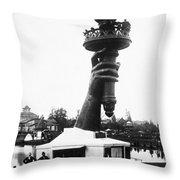 Centennial Fair, 1876 Throw Pillow