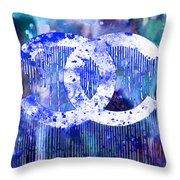 Chanel Art Print Throw Pillow