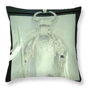 Charles Hall - Creative Arts Program - Spirits Of The Plains Throw Pillow
