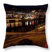 Charleston - West Virginia Throw Pillow
