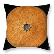 Chinese Geomantic Compass And Perpetual Throw Pillow