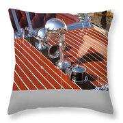Chris Craft Custom Throw Pillow