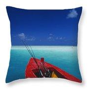 Christmas Island, Bone Fi Throw Pillow