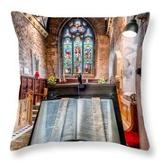 Church Interior Throw Pillow