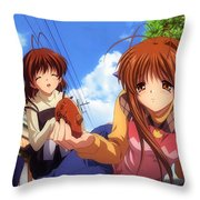 Clannad Throw Pillow