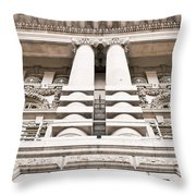 Classic Architecture Throw Pillow
