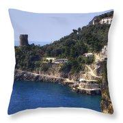 Furore - Coast Of Amalfi Throw Pillow