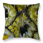 Color Abstracts Throw Pillow