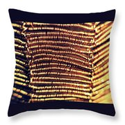 Copper Wirework Throw Pillow