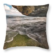 Coral Cove Throw Pillow