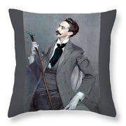 Count Robert De Montesquiou Throw Pillow