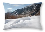 Crawford Notch State Park  - White Mountains New Hampshire  Usa Throw Pillow