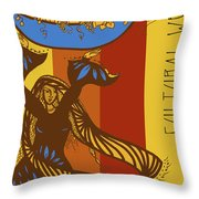 Cultural Wealth Throw Pillow
