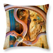 Curves And Lines  Throw Pillow