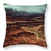 Dead Horse Canyon Throw Pillow