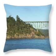 Deception Pass Throw Pillow