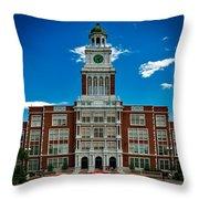 Denver's East High School Throw Pillow