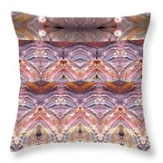 Desert Painting Throw Pillow