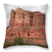 Desert View, Sedona, Arizona Throw Pillow