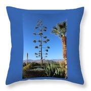 Desert Willow Golf Resort Throw Pillow