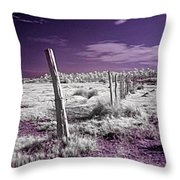 Desertic Landscape Throw Pillow