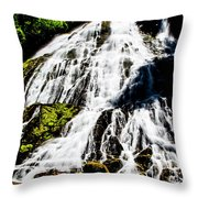Diamond Creek Falls Throw Pillow