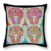 Dod Art 123 Throw Pillow