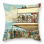 Dominion Line Throw Pillow