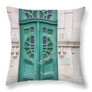 Doors Of Portugal  Throw Pillow