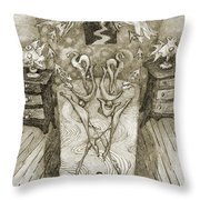 2 Dreaming... Throw Pillow