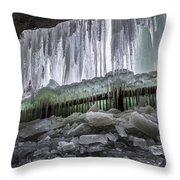 Dry Falls - Highlands, Nc Throw Pillow