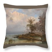 Duck Hunter Throw Pillow