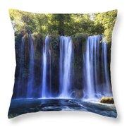 Duden Waterfall - Turkey Throw Pillow