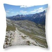 Durrenstein, Dolomites, Italy Throw Pillow