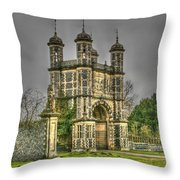Eastwell Towers Throw Pillow