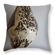 Eden - The Tree Of Life Throw Pillow