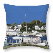 Edgartown Harbor Throw Pillow