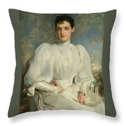 Elsie Wagg Throw Pillow