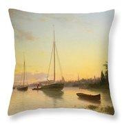 Evening Throw Pillow
