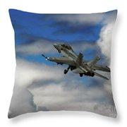 F-18 Superhornet Throw Pillow