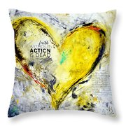 Faith Without Action Is Dead Throw Pillow