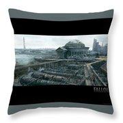 Fallout Throw Pillow