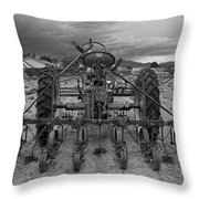 Farmall Tractor Throw Pillow
