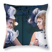 Fashion Show Catwalk Throw Pillow