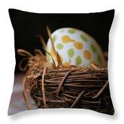 Fashionable Egg Throw Pillow