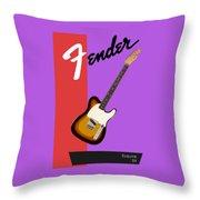 Fender Esquire 59 Throw Pillow