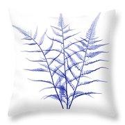 Fern, X-ray Throw Pillow