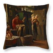 Fischerstube Throw Pillow