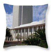 Florida State Capitol Building Throw Pillow