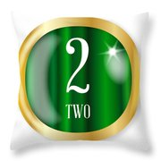 2 For Two Throw Pillow